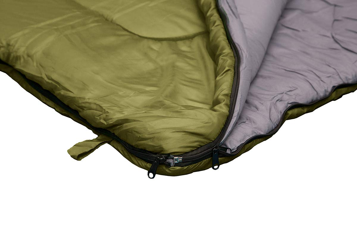 REVALCAMP Sleeping Bag for Cold Weather - 4 Season Envelope Shape Bags by Great for Kids, Teens & Adults. Warm and Lightweight - Perfect for Hiking, Backpacking & Camping 6