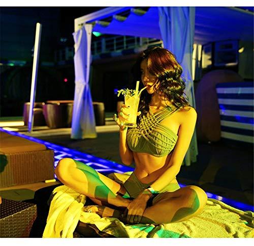 Personale Sorgente Spring Separato Trasversale Bikini Hot Wazr Sensory Di Cinghia Della Small Nero Femminile Del Steel Swimwear ZqAwFO0
