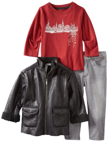 Kenneth Cole Little Boys' KC Toddler 45743091 3 Piece Set