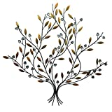 D64075 Metal Wall Art Tree