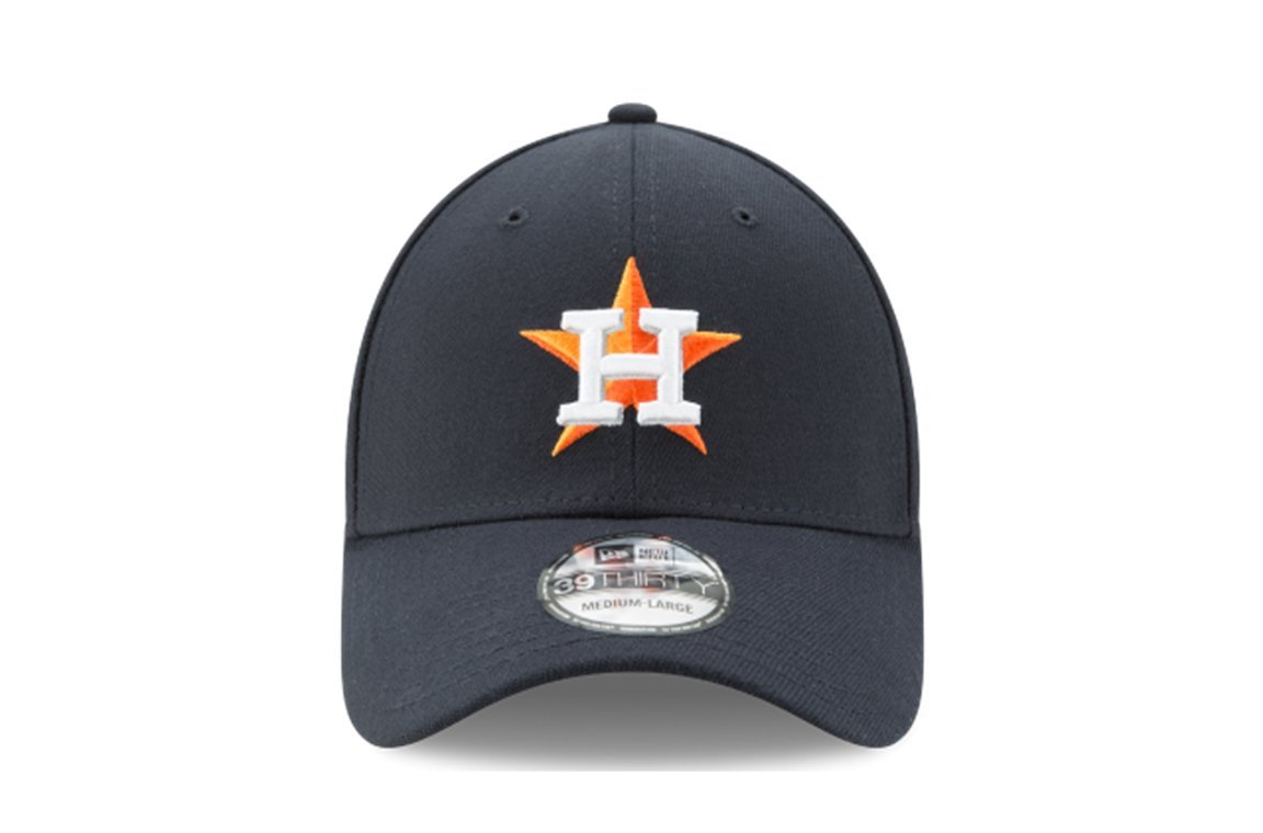 MLB Houston Astros Team Classic Home 39Thirty Stretch Fit Cap, Blue, Small/Medium