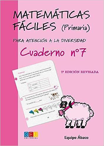 Matemáticas Fáciles Para Atención a la Diversidad - Cuaderno 7: Amazon.es: Vv.Aa.: Libros