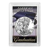 "2021 American Silver Eagle in""Graduation"" Holder"