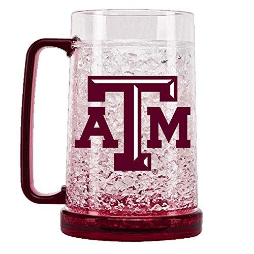 NCAA Texas A & M Aggies 16oz Crystal Freezer Mug ()
