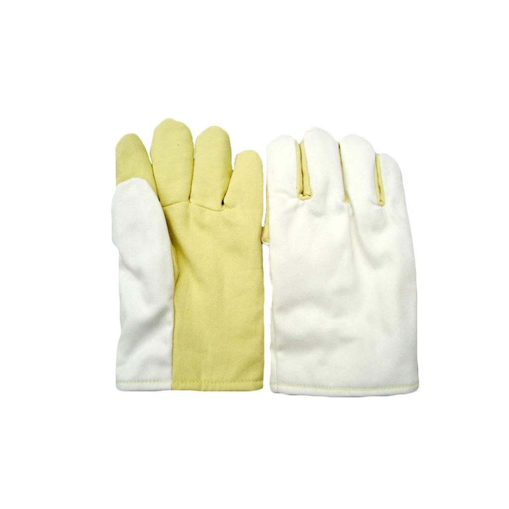 YYTLST High Temperature Resistant Gloves, Wear Resistant and Heat Resistant, High Temperature Resistant 300°C, Suitable for Industrial Oven Machinery (Size : XL) by YYTLST