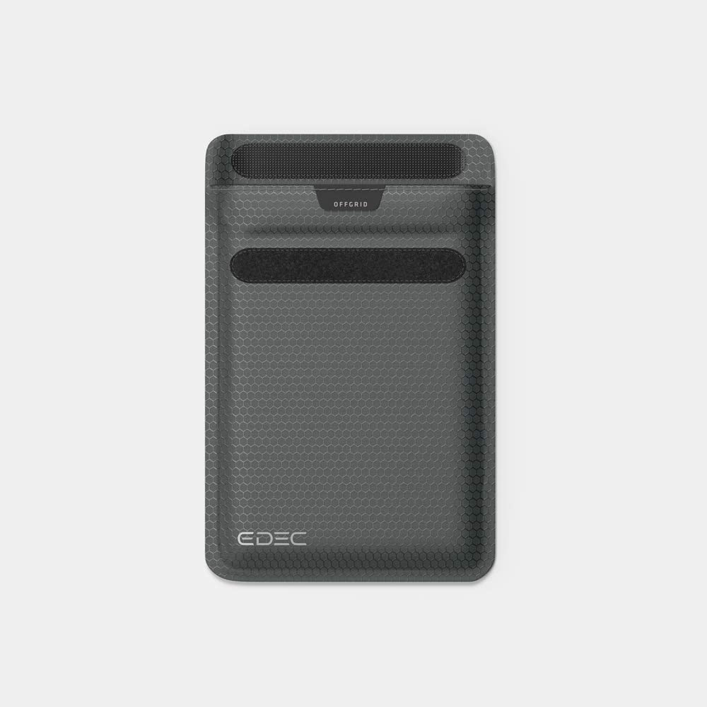 Privacy for Mobile Devices with Anti-Hacking and Radiation Protection with RFID EMF Shielding Black EDEC Signal-Blocking Key Fob Faraday Bag OffGrid