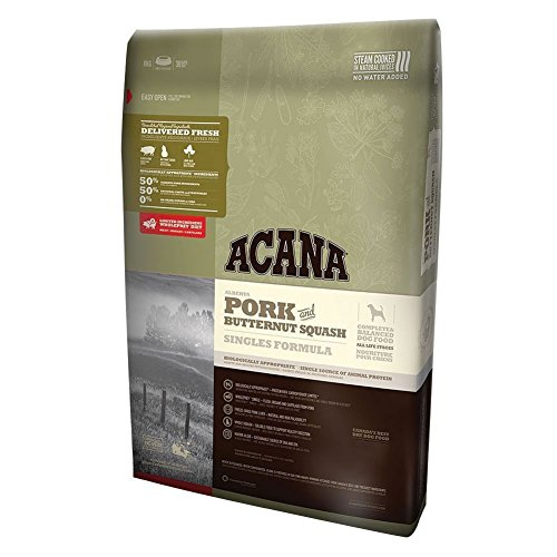 Acana Pork & Butternut Squash Dry Dog Food, 25 Pound Bag