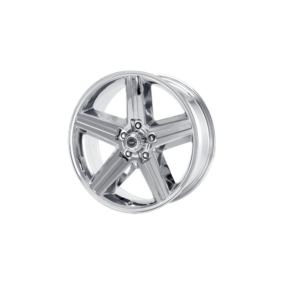 American Racing Vintage Iroc Replica 16x8 Chrome Wheel / Rim 5x4.75 with a 0mm Offset and a 72.70 Hub Bore. Partnumber VN6906861 Automotive