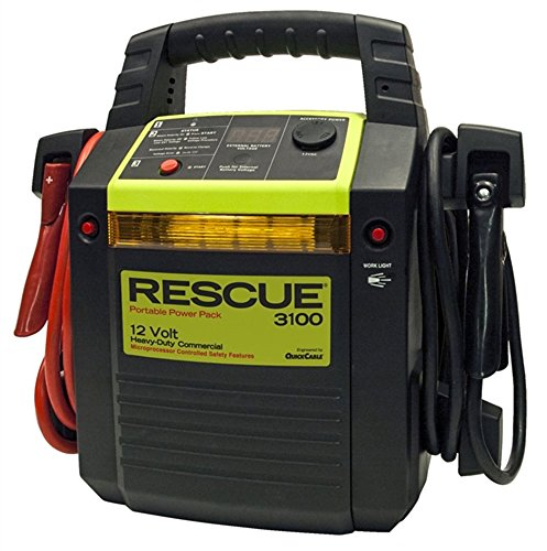Rescue 3100 Custom Portable Commercial Grade 12V Power Pack (Battery NOT included) by Quick Cable