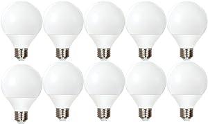 GE Lighting Energy Smart CFL 11-Watt (40-watt replacement) 500-Lumen G25 Light Bulb with Medium Base (10 Bulbs)