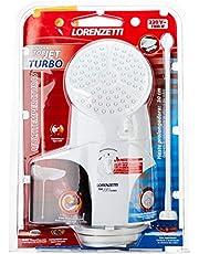Ducha Top Jet Turbo Multitemperaturas 220V 7500W, Lorenzetti, 7541515, Branco, Pequeno