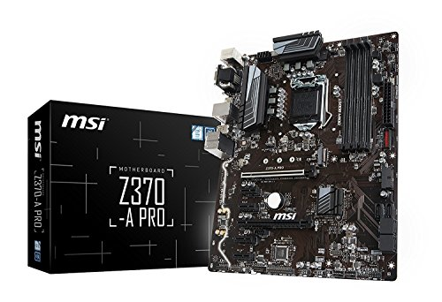 Picture of a MSI ATX Motherboard Motherboards Z370A 824142152942