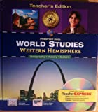 World Studies: Western Hemisphere, Heidi Hayes Jacobs, 0131280821