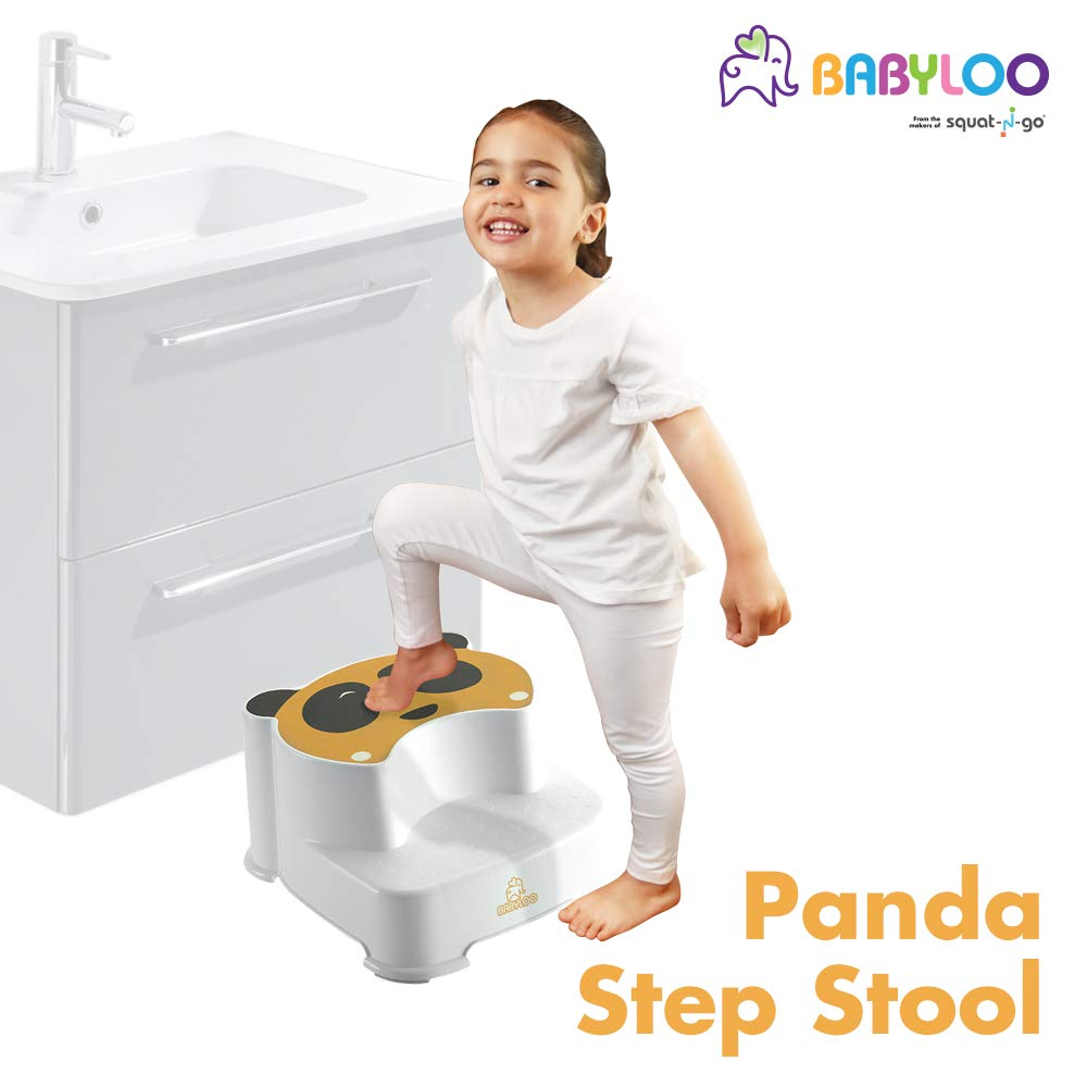 Babyloo Panda Step Stool (Yellow)