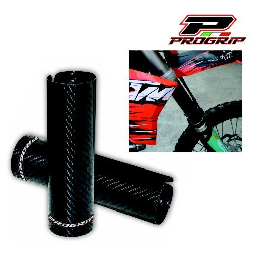 Carbon Fork Guards (Progrip 5012 Carbon Fiber Fork Protector)