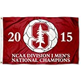 College Flags and Banners Co. Stanford Cardinal 2015 Men's Soccer Champs Flag