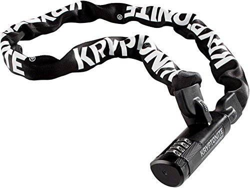 Kryptonite Keeper Combination Integrated Bicycle Chain (7mm X 120cm)