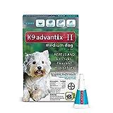 Bayer K9 Advantix II - Medium Dogs - 11 to 20-Pound - 6-Month