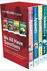 4 Volume Answers Book Box Set Paperback