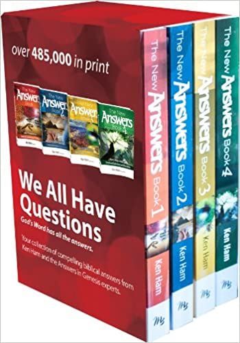 4 volume Answers Set Boxed Set