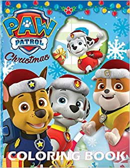 Paw Patrol Christmas Coloring Book Special Edition Paw Patrol Christmas Coloring Book 50 Coloring Pages For Kids And Adults Colorworld Princess 9798554918865 Amazon Com Books