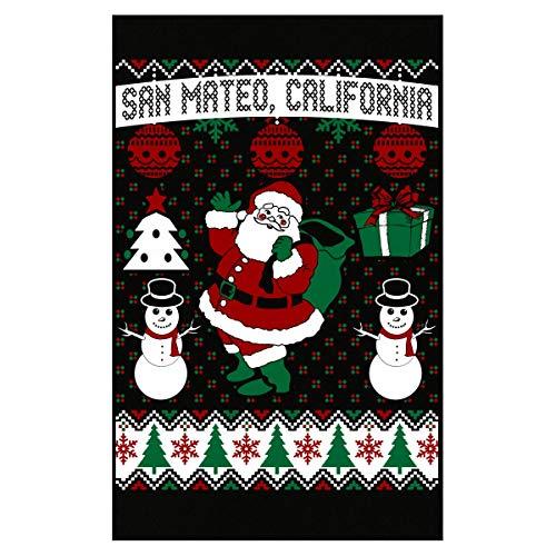 AttireOutfit Christmas Ugly Sweater San Mateo California - Poster ()