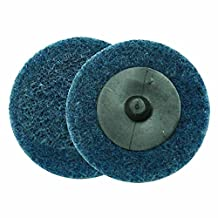 """Superior Pads and Abrasives SD2F 2"""" ROLL-ON/ROLL-OFF Style Surface Conditioning Sanding Disc (Blue / Fine)"""