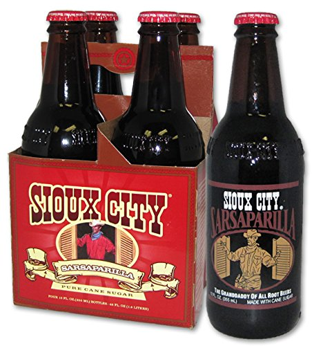 Sioux City Sarsaparilla 12 Pack