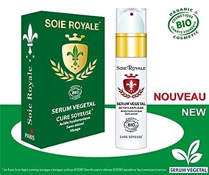 Soie Royale BIO Cure Soyeuse Sérum vegetal de seda, ácido hialuró