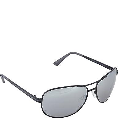 Southpole Mens 900SP BLKGY Aviator Sunglasses Black Grey