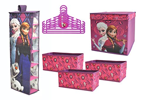 Disney Frozen Closet Organization Set (10-Piece) by Disney