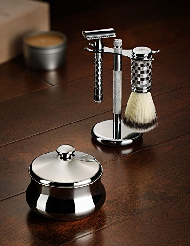 Schöne Stainless Steel Shaving Bowl with Lid - Satisfaction Guarnteed Designed in Austria by Schone (Image #2)