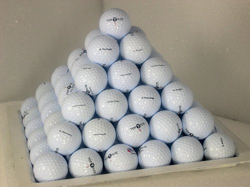 (AAA 2005 Top-Flite Mix 100 Pack used golf balls )