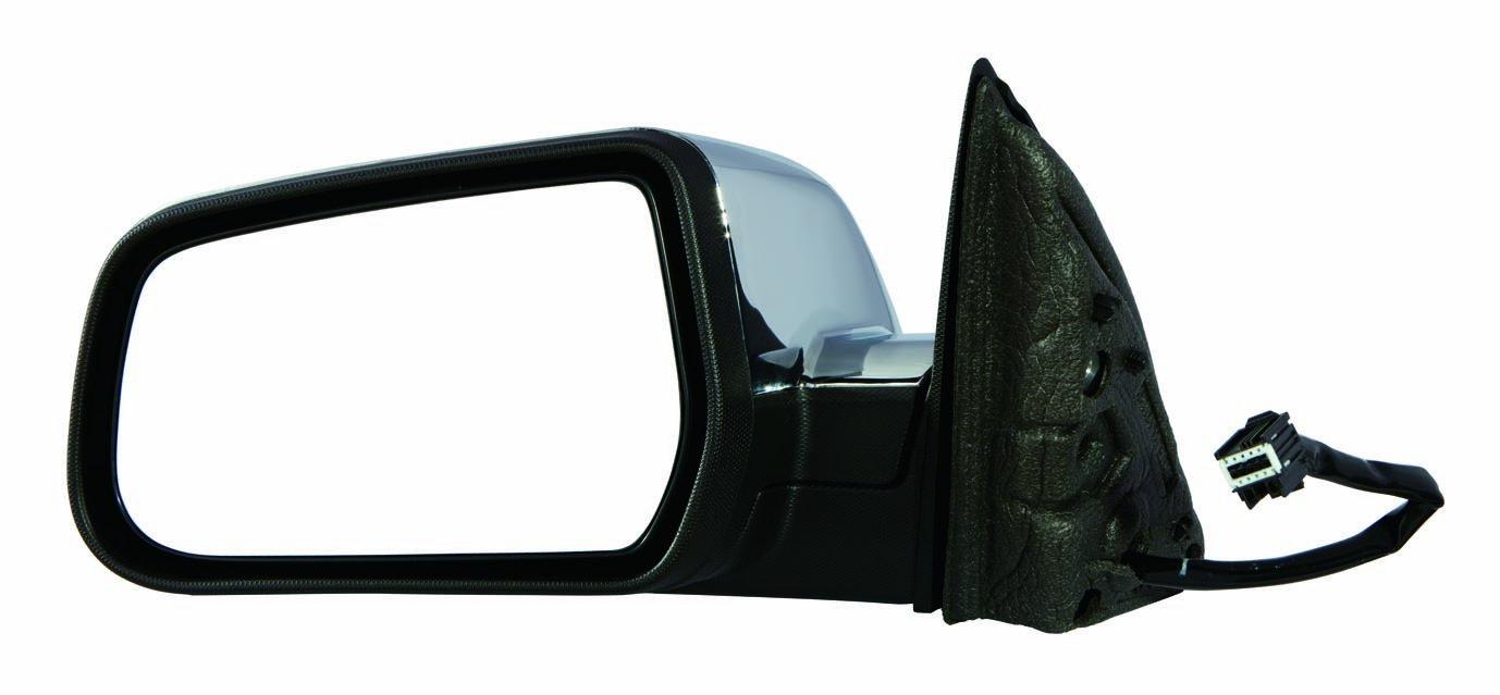 Depo 335-5422L3ECH Chevy Equinox/Pontiac Torrent Driver Side Chrome Heated Power Mirror with Memory