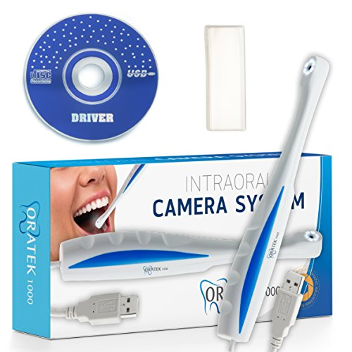 Oratek1000 Dental Intraoral Camera System, Intra-oral Dental Digital Camera, Dental Photography Oral Dentist Video Cam - Super Clear! Works With Most Imaging Software (Digital Camera Intraoral)