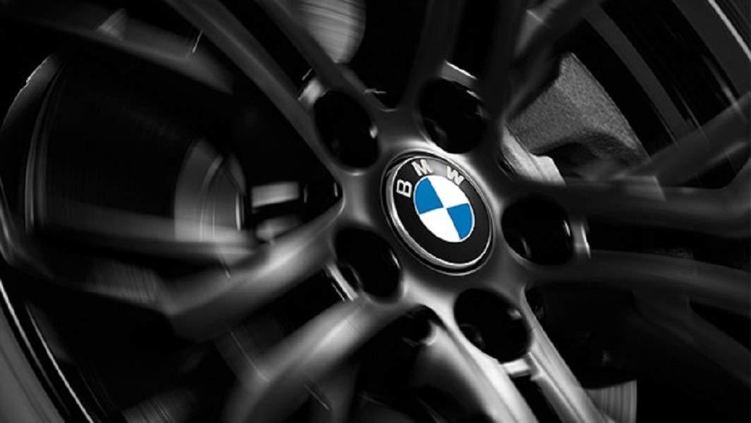 BMW Genuine Floating Hub Caps 56mm For 112mm Alloy Wheel Trim 36122455268
