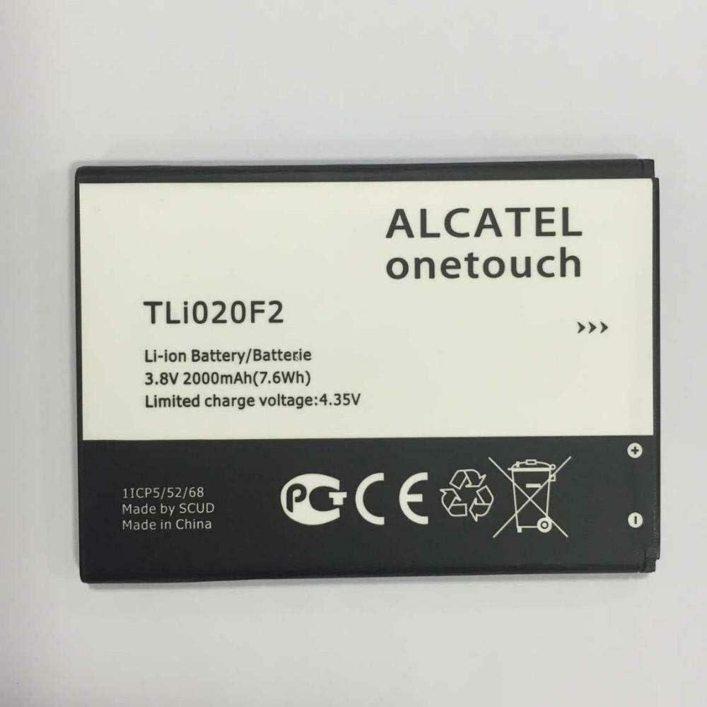 New OEM Alcatel One Touch Battery 2000 mAh TLi020F