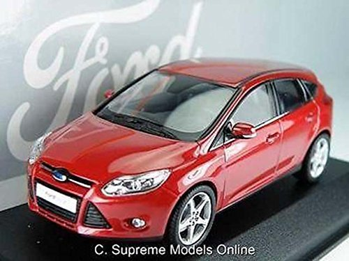 43rd Scale - Ford Focus Model Car 1/43Rd Scale Red Special Dealer Packaged Issue K8967Q# by Supreme Models Online