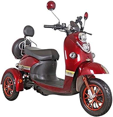 3 ruedas SCOOTER DE MOVILIDAD ELÉCTRICA 500W 25 km/h Mobility Scooter Green Power