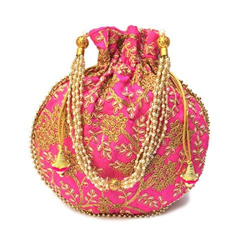Pink Potli Bag Handbags...