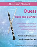 Duets for Flute and Clarinet: 26 pieces arranged for two equal flute and clarinet players who know the basics. Flute part is in first and second ... Christmas pieces.  All are in easy keys.