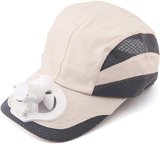 ANHPI-Hat Ventilador Sombrero De Refrigeración USB De Carga Al ...