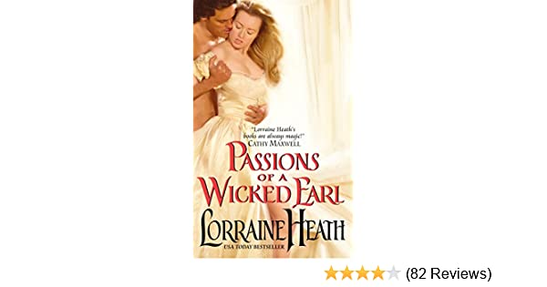 Passions of a Wicked Earl (Londons Greatest Lovers, Book 1)