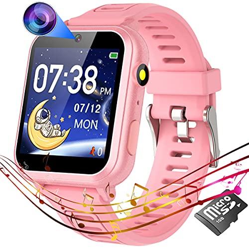 Reloj Smartwatch para chicos de 4 a 12 años - Rosa