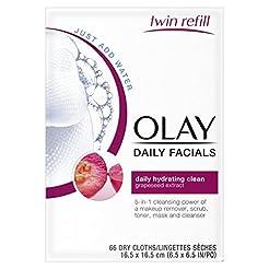 Olay Daily Facials, Daily Clean Makeup R...