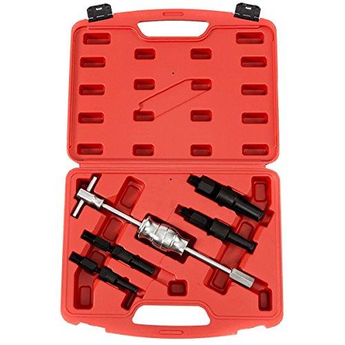 Goplus 5pcs Blind Inner Bearing Puller Hole Remover Extractor Set Slide Hammer Tool Kit