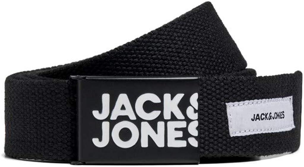Jack /& Jones Mens Colton Woven Belt with Buckle