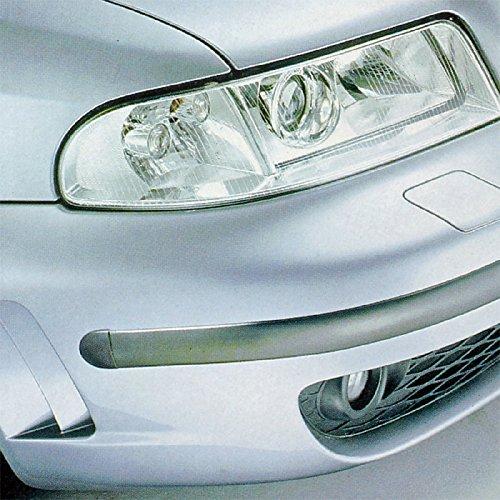 Bande de protection E-Tech pour carrosserie et pare-chocs de voiture - Rouleau de 5 m avec embouts - Noir BMG001-B