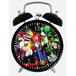 New Super Mario Bros Alarm Desk Clock 3.75 Room Decor C111 Will Be a Nice Gift