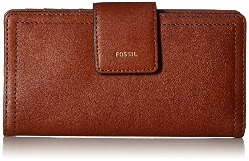 Fossil Logan RFID Tab Wallet, Brown